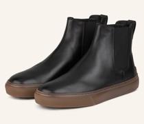 Chelsea-Boots - SCHWARZ/ BRAUN