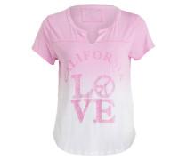T-Shirt LOVE ARTWORK - pink