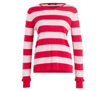 Pullover - rot/ rosa
