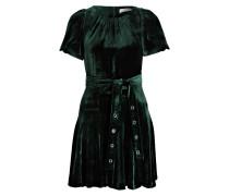 Samt-Kleid - grün