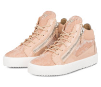 Hightop-Sneaker KRISS - rosé
