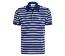 Jersey-Poloshirt Regular-Fit - blau
