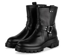 Biker Boots SALLY - SCHWARZ