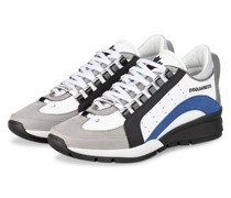 Sneaker 551 - WEISS/ SCHWARZ/ DUNKELBLAU