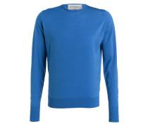 Feinstrickpullover MARCUS - blau