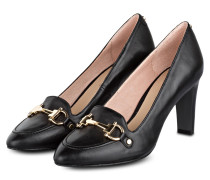 College-Pumps - schwarz