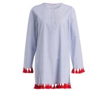 Kleid FINELINER - blau/ weiss