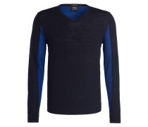 Strickpullover K-MILLOW-V - navy/ royal
