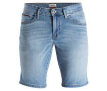 Jeans-Shorts SCANTON Slim-Fit - blau