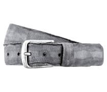 Ledergürtel BIBOLY - grau