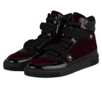 HIghtop-Sneaker - schwarz/ bordeaux