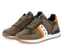 Sneaker - OLIV/ ORANGE