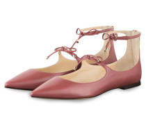Cut-Out-Ballerinas SAGE - altrosa