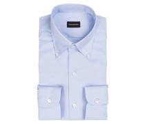 Oxfordhemd Slim-Fit - blau