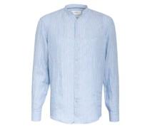 Leinenhemd LARS Modern Fit mit Stehkragen