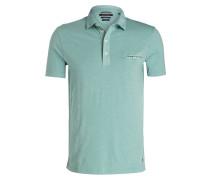 Poloshirt Shaped-Fit - grün