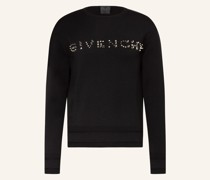 Pullover mit Nietenbesatz