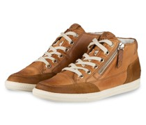 Hightop-Sneaker - HELLBRAUN