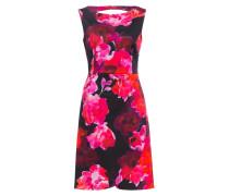 Kleid ALICE - schwarz/ pink/ orangerot