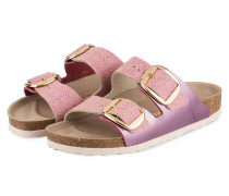 Sandalen ARIZONA - lila/ rosa metallic