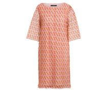 Kleid mit 3/4-Arm und Häkelspitze
