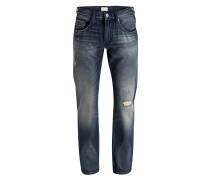 Destroyed-Jeans DENTON Straight-Fit