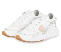 Plateau-Sneaker EZE - WEISS/ SILBER