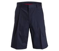 Shorts HIMON mit Bundfalte - blau
