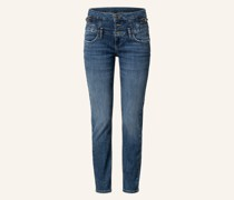 Skinny Jeans RAMPY mit Schmucksteinbesatz