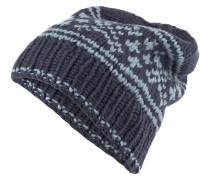 Cashmere-Mütze SMILLA - blau