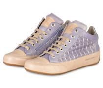 Hightop-Sneaker JOANA - lila/ beige