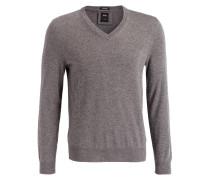 Cashmere-Pullover T-ETTORE - grau