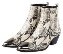 Cowboy Boots LUCCYEN - ECRU/ SCHWARZ