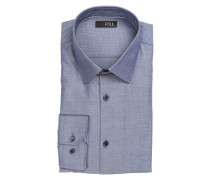 Hemd Slim-Fit - blaugrau