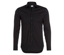 Hemd Modern-Fit - schwarz