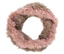 Loop-Schal aus Fell