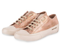 Sneaker ROCK - rosa metallic
