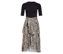 Kleid RAPRILE im Materialmix