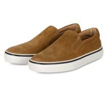 Slip-on-Sneaker CASSETTA - HELLBRAUN