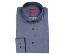 Hemd C-JASON Slim-Fit - blau meliert