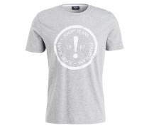 T-Shirt COLIN - hellgrau meliert