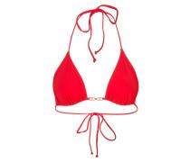 Triangel-Bikini-Top GEMINI LINK - rot