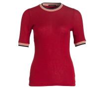Pullover SARINA - rostrot/ puder/ navy