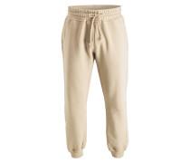 Cuffed-Sweatpants - sand