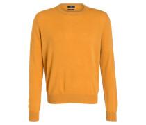 Cashmere-Pullover - ocker