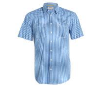 Halbarm-Hemd JOSH Regular-Fit - blau