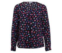 Bluse - schwarz/ pink/ blau