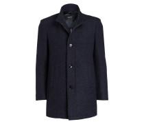 Mantel JOY - dunkelblau meliert