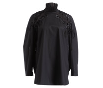 Oversized-Bluse RAIL ROAD - schwarz
