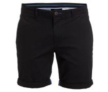 Shorts Slim-Fit - schwarz